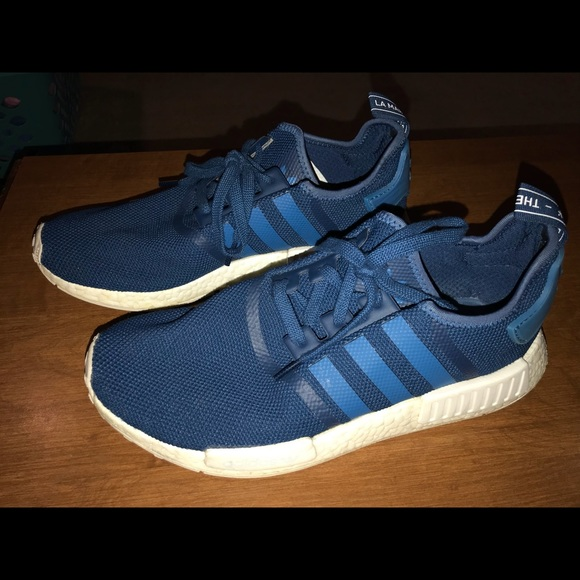 64adc48e2 adidas Other - Adidas NMD R1 Boost university blue men s size 11
